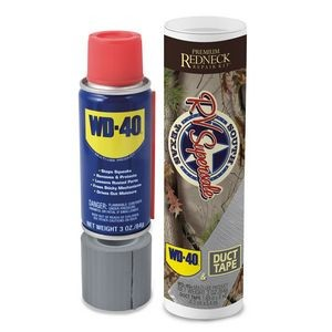 Premium Redneck Repair Kit, WD-40 3 oz Handy Can and 6 yards of Duct Tape