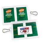 Custom GoPac with OFF! Deep Woods Insect Repellent, with Carabiner