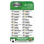 Custom Full Color Microfiber Cloth Soccer Sports Schedule 4