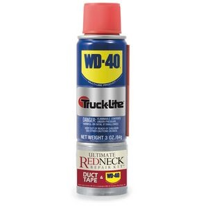 Ultimate Redneck Repair Kit, WD-40 3 oz Handy Can and 6 yards of Duct Tape, Silver Label