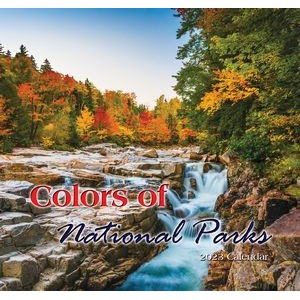 Colors of National Parks 2020 3-Months Calendar