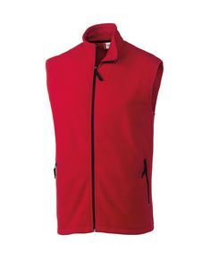 Mens Clique Summit Full Zip Fleece Vest