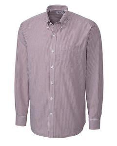 Cutter & Buck Easy Care Mini Bengal Stripe Shirt - Mens