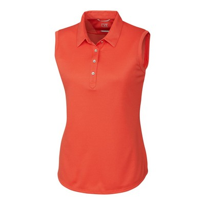 Ladies' Cutter & Buck® Clare Sleeveless Polo Shirt
