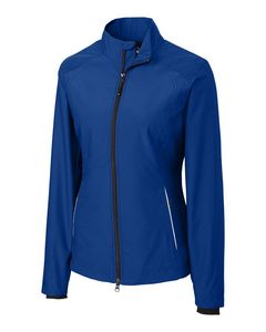 Custom Cutter & Buck WeatherTec Beacon Full Zip Jacket - Ladies'