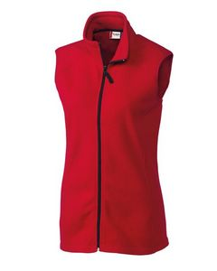 Custom Ladies' Clique Summit Full Zip Fleece Vest