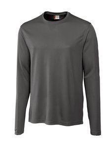 Custom Men's Clique Long Sleeve Ice Tee Shirt
