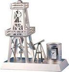 Custom Oil Rig Clock