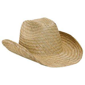 Custom Straw Cowboy