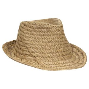 Custom Straw Fedora