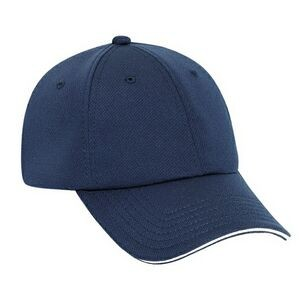 OTTO Cool Comfort Polyester Cool Mesh Sandwich Visor 6 Panel Low Profile Baseball Cap
