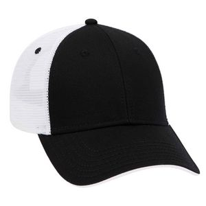Custom Six Panel Low Profile Mesh Back Cap