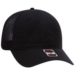 Custom Six Panel Low Profile Mesh Back Cap