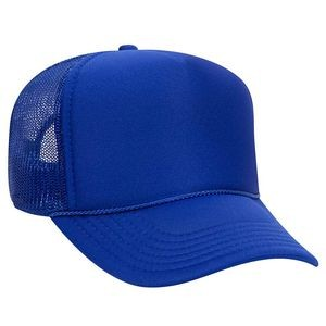 OTTO Polyester Foam Front 5 Panel Pro Style Mesh Back Trucker Hat