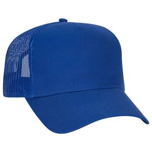 Custom Five Panel Low Profile Style Mesh Back Cap