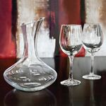 Custom Sonoma - 3 Piece Wine Decanter Set