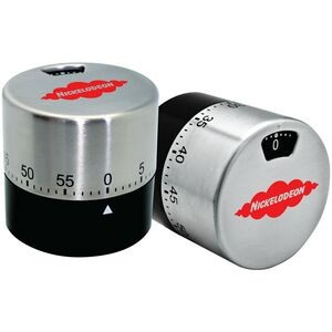 Dual View Stainless Steel Cylindrical Timer