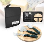 Custom Normandy 5 Piece Cheese Set | Cutting Board