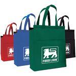 Custom Boston Medium Cooler Tote Bag w/ Open Front Pocket