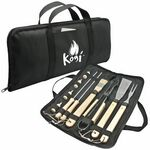 Custom 11 Piece BBQ Tool Set