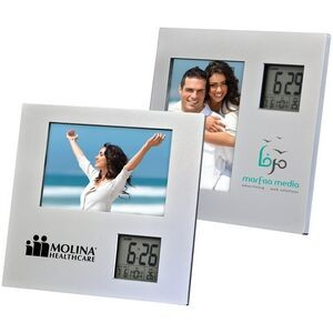 Photo Frame with 2 Way Clock