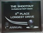 Custom Golf Dimensions Plaque (7
