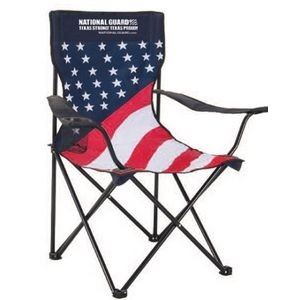 Patriotic Folding Chair