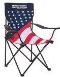 Custom Patriotic Folding Chair