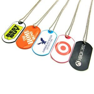 Full Color Epoxy Domed Dog Tag