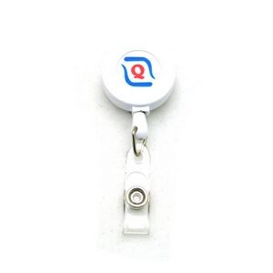 Air Imported Pad Printed Color Badge Reel