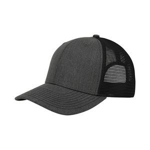 Heather Suiting Deluxe Trucker Cap