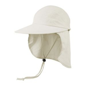 Juniper Microfiber Wide Brim Hat w/ Removable Flap