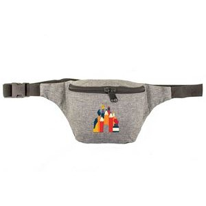 Basic Heather Gray Fanny Pack