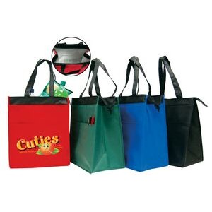 Large Insulated Hot / Cold Cooler Tote Bag