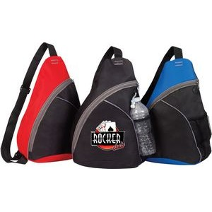 Zipper Sling Backpack