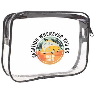 On The Go Clear Travel Pouch