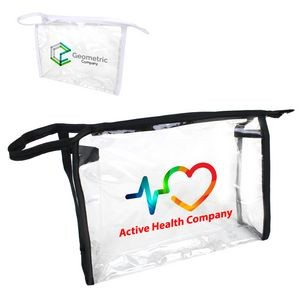 Clear Cosmetic Tote