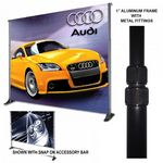 Custom Premium 11'x11' Adjustable Stand, Convert Kit, & Banner