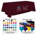 Custom 6' Premium 3-Color Thermal Transfer Table Cover