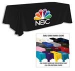 Custom 8' Premium Full Color Thermal Transfer Table Cover