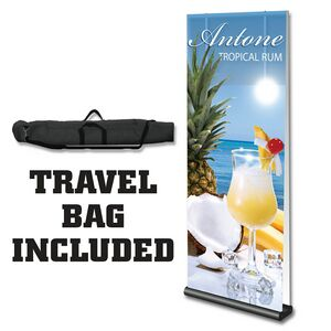 Premium Double Side 4X8 Retractable Banner Stand