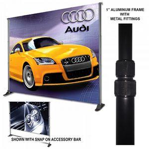 Premium 8x12 Adjustable Stand, Convert Kit, & Banner