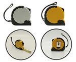 Custom 10Ft Tape Measure with Wristband and Belt Clip - 1 Color Imprint / Full Color Additional