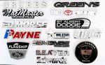 Custom Chrome nameplates