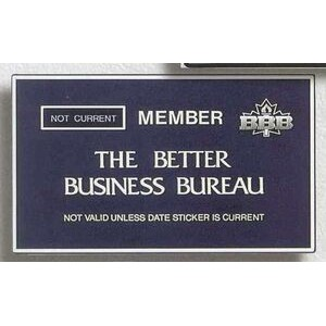 Membership Plaque (Up To 55 Sizes)