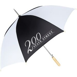 Auto Open Sporty Stick Umbrella
