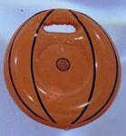 Custom Inflatable Basketball Shape Stadium Cushion w/ Handle / 20