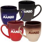 Custom CBISTRO G 16 - 16 Oz. Ceramic Gradient Bistro Mug
