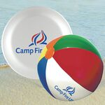 Custom Beach Ball, Flyer & Kit