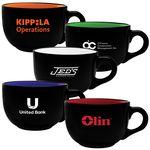 Custom CCAPTT23 - 23 Oz. Ceramic two tone Cappuccino Mug